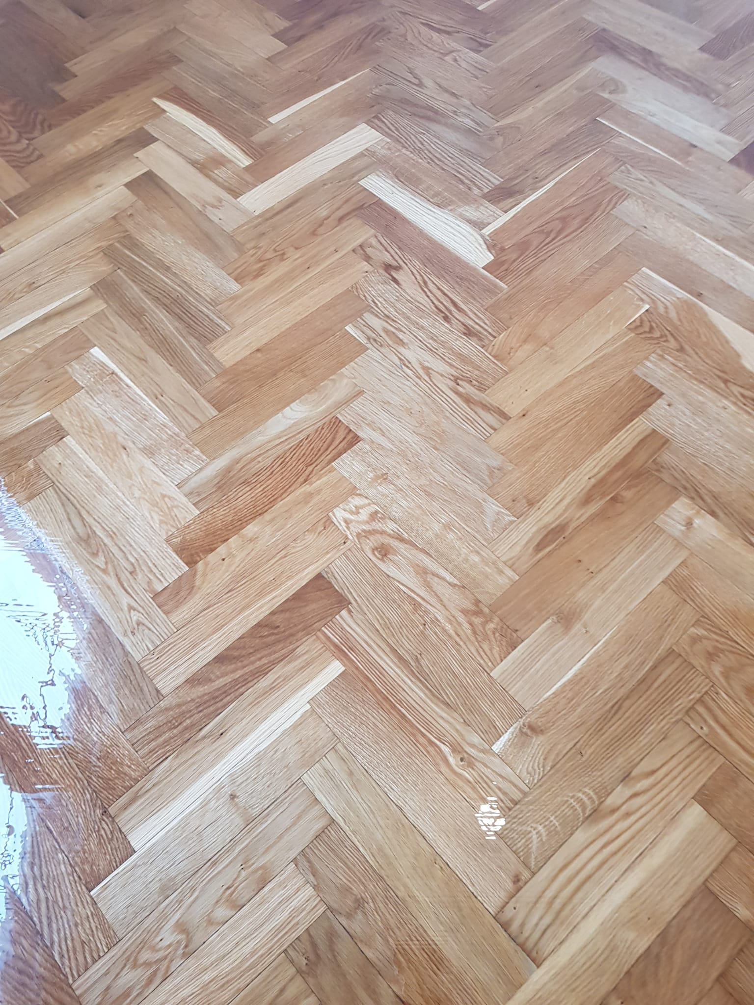 Parquet de Tablilla de Roble